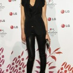 on the red carpet at LG's 'A Night Of Fashion & Technology' event