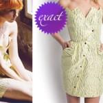 Hayley Williams: Yellow Metallic Dress