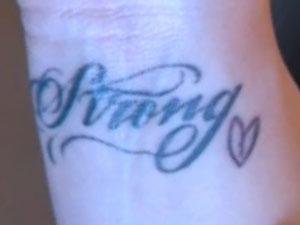 Demi Lovato Heart Tattoo