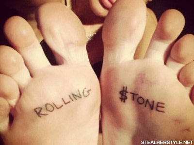 Miley Cyrus Tattoos Meanings Steal Her Style