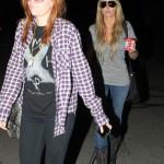 Brandi Cyrus in Los Angeles