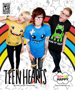 Teen Hearts for So So Happy