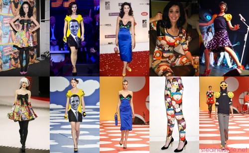 Katy Perry in Jean-Charles de Castelbajac