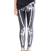 973a6093aaadb If you want to score the look for less, you can get skeleton leggings at  most party stores, including Party City, where they sell for $14.99 (also  available ...