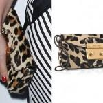 Hayley Williams: Miu Miu Leopard Clutch