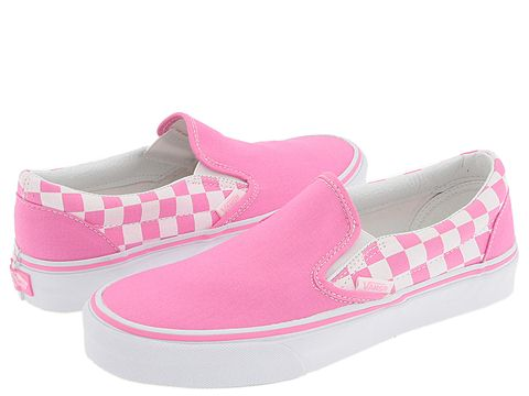 Ash Costello: Pink Slip-on Vans | Steal