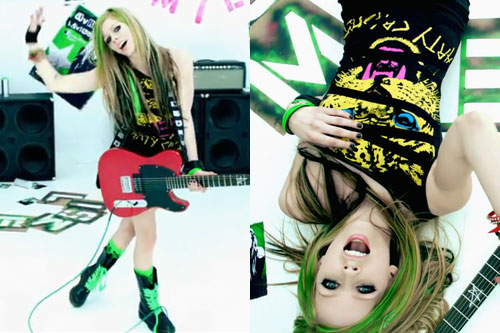 Avril Lavigne: Smile Dress Outfit