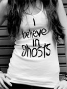 I Believe in Ghosts tank top