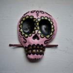 Sugar Skull Hair Clip