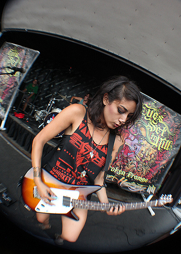 Alexia Rodriguez of Eyes Set To Kill