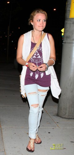 Emily Osment wearing Jawbreaking