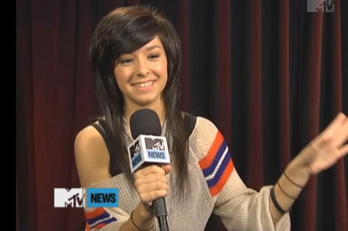 Christina Grimmie on MTV