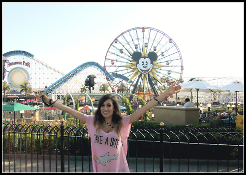 Mindy White at Disneyland
