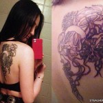 Jacqui Sandell jellyfish tattoo