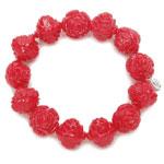 Carved Rose Bracelet