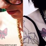 kreayshawn-bow-tattoo