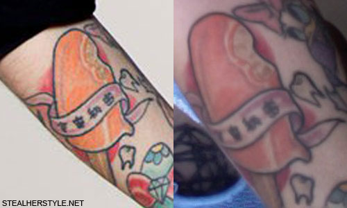 Kreayshawn Creamsicle Tattoo
