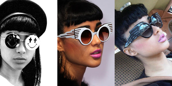 eaa89185a824 Natalia Kills: Jeremy Scott Sunglasses | Steal Her Style