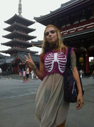 Alana Potocnik in Japan