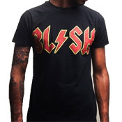 Blush Lightning Logo Black T-Shirt
