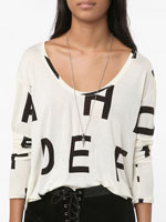 Urban Outfitters Silence & Noise Cropped Tee