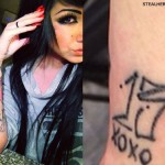 Melissa Marie Green 13 XOXO wrist tattoo