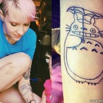 Sherri DuPree-Bemis totoro tattoo