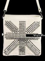 Virgin Blak 0ZA HY6015 Studded Cross Bag