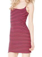 Betsey Johnson Stripe Thermo Bustle Dress
