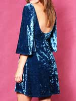 The Blue Velvet Dress by Red Velvet
