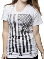 Hide & Seek Clothing United States of Camryn Tee