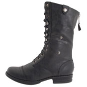 Madden Girl Zorrba combat boots