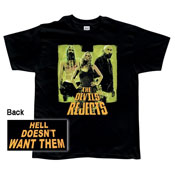 The Devils Rejects 'Hell Doesn't Want Them' t-shirt
