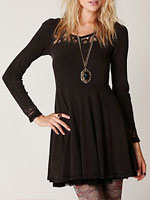Free People Battenburg Lace Dress