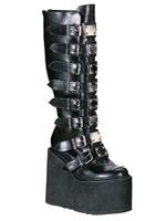 Demonia Swing 815 platform gothic boots