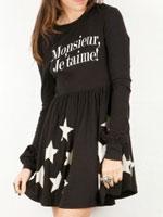 Monsieur Je Taime babydoll dress