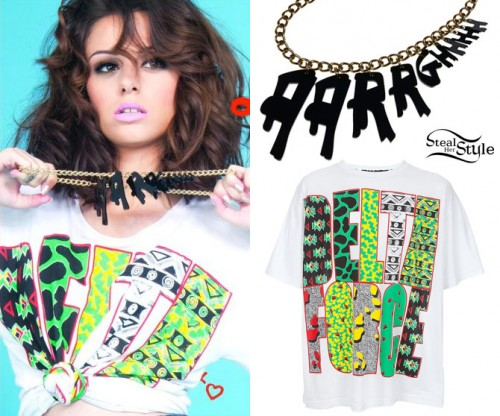 Cher Lloyd Want U Back album cover outfit