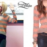 Stacy Dupree King striped sweater