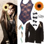Allison Green: Lace Bodysuit Outfit