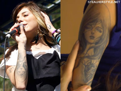 Christina Perri's Tattoos & Meanings | Steal Her Style