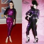 Cher Lloyd Brit Awards jumpsuit