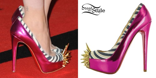 Cher Lloyd Brit Awards shoes
