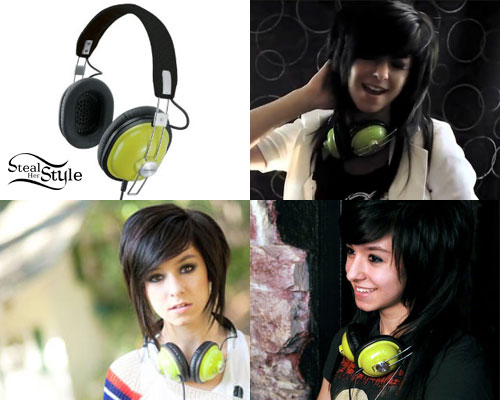 Christina Grimmie headphones