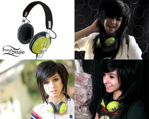 Christina Grimmie headphones