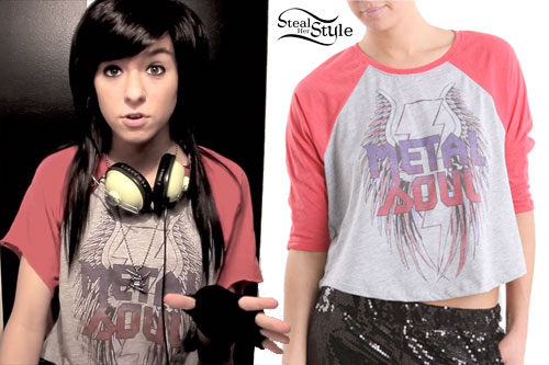 Christina Grimmie Metal Soul T-Shirt