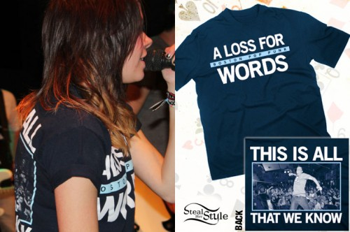 Tay Jardine: A Loss For Words T-Shirt