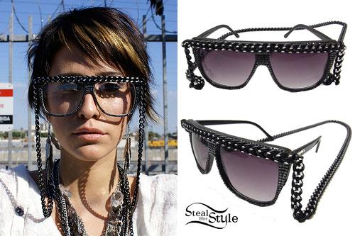 DEV: Chain Sunglasses