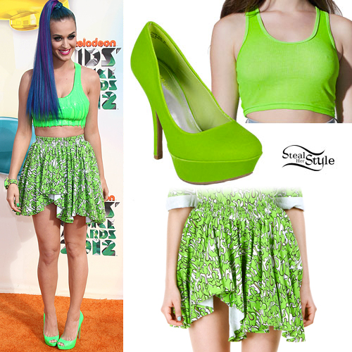 Katy Perry: Kids Choice Awards Outfit