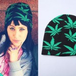 Kreayshawn: Weed Print Beanie