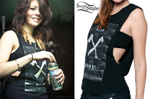 Tay Jardine: Wild At Heart Sleeveless Tee